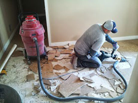 floor tile removal Phoenix